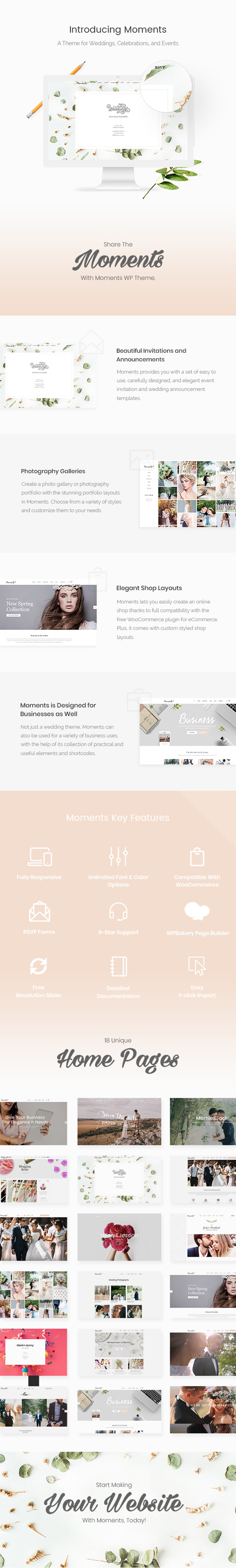 Moments - Wedding & Event Theme - 1